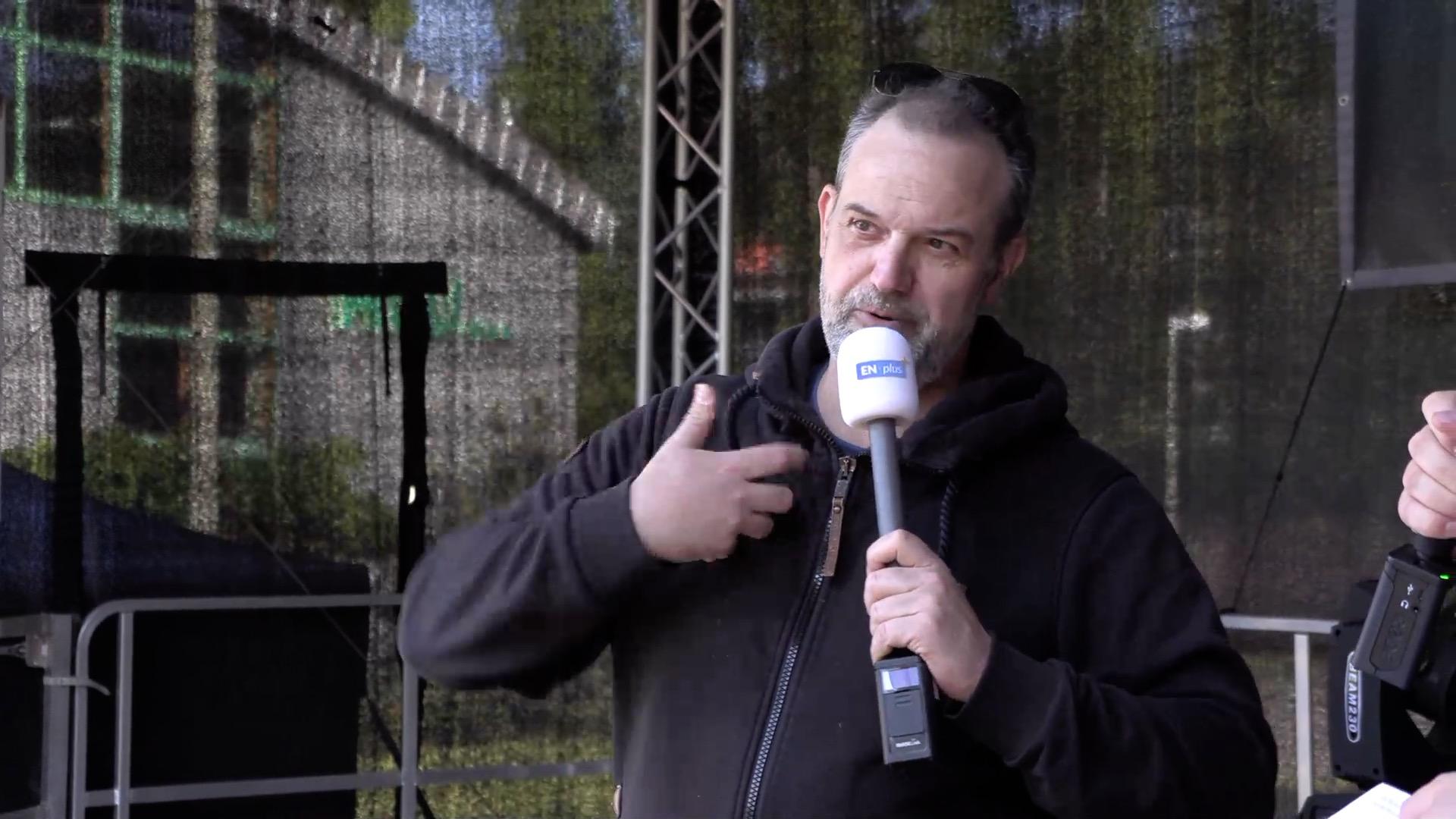 Kabarettist René Steinberg live bei ENplus