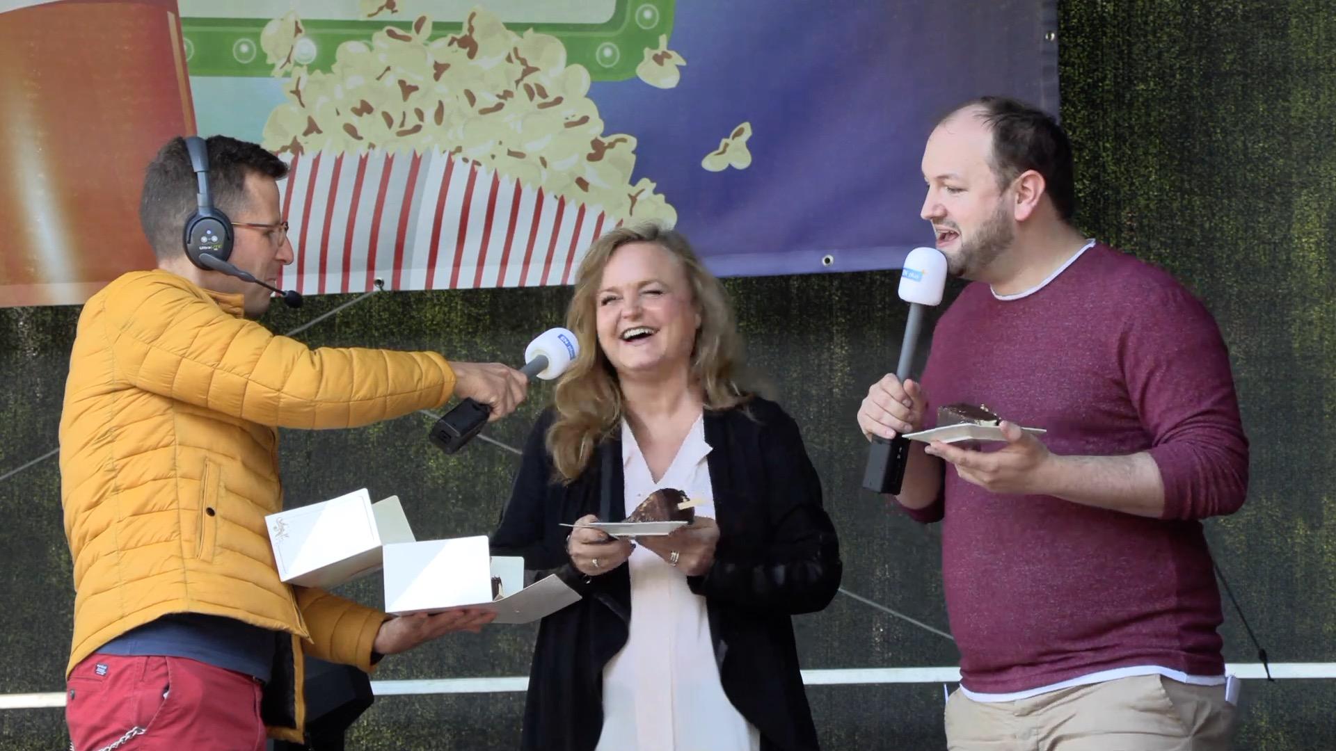 Jutta Kartenberg stellt Cheesecake-Sticks vor